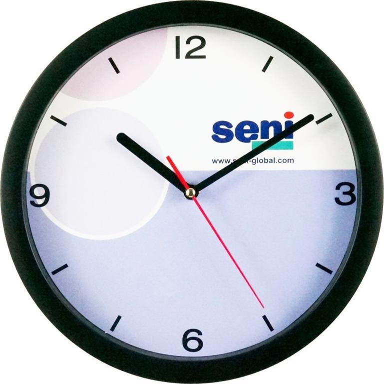 Po nam ścienne zegary reklamowe z nadrukiem?
